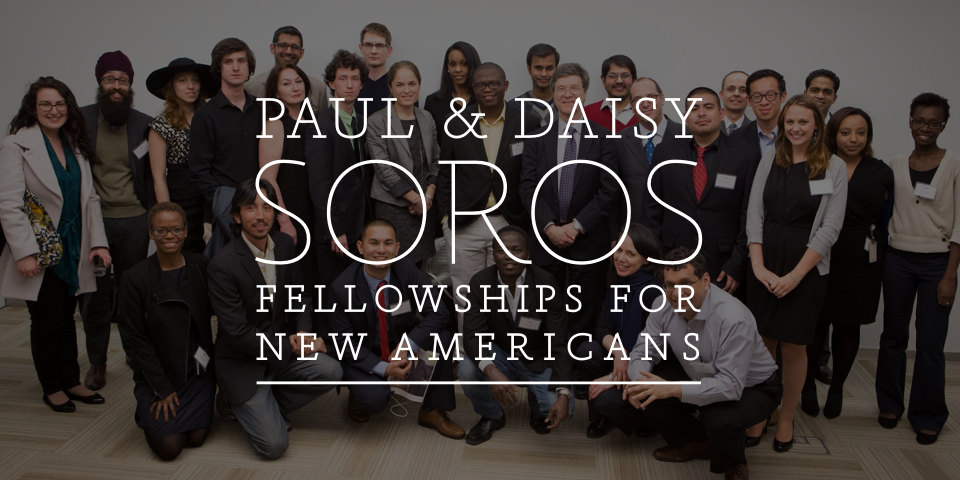 Paul & Daisy Soros Fellowship for New Americans Wordmark
