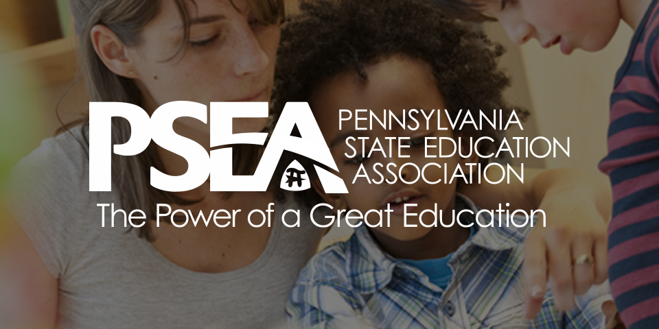 Pennsylvania State Education Association logo & wordmark