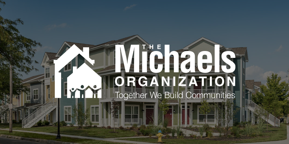 the michaels organization logo