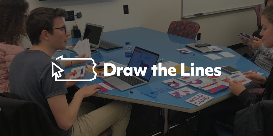 draw the lines logo