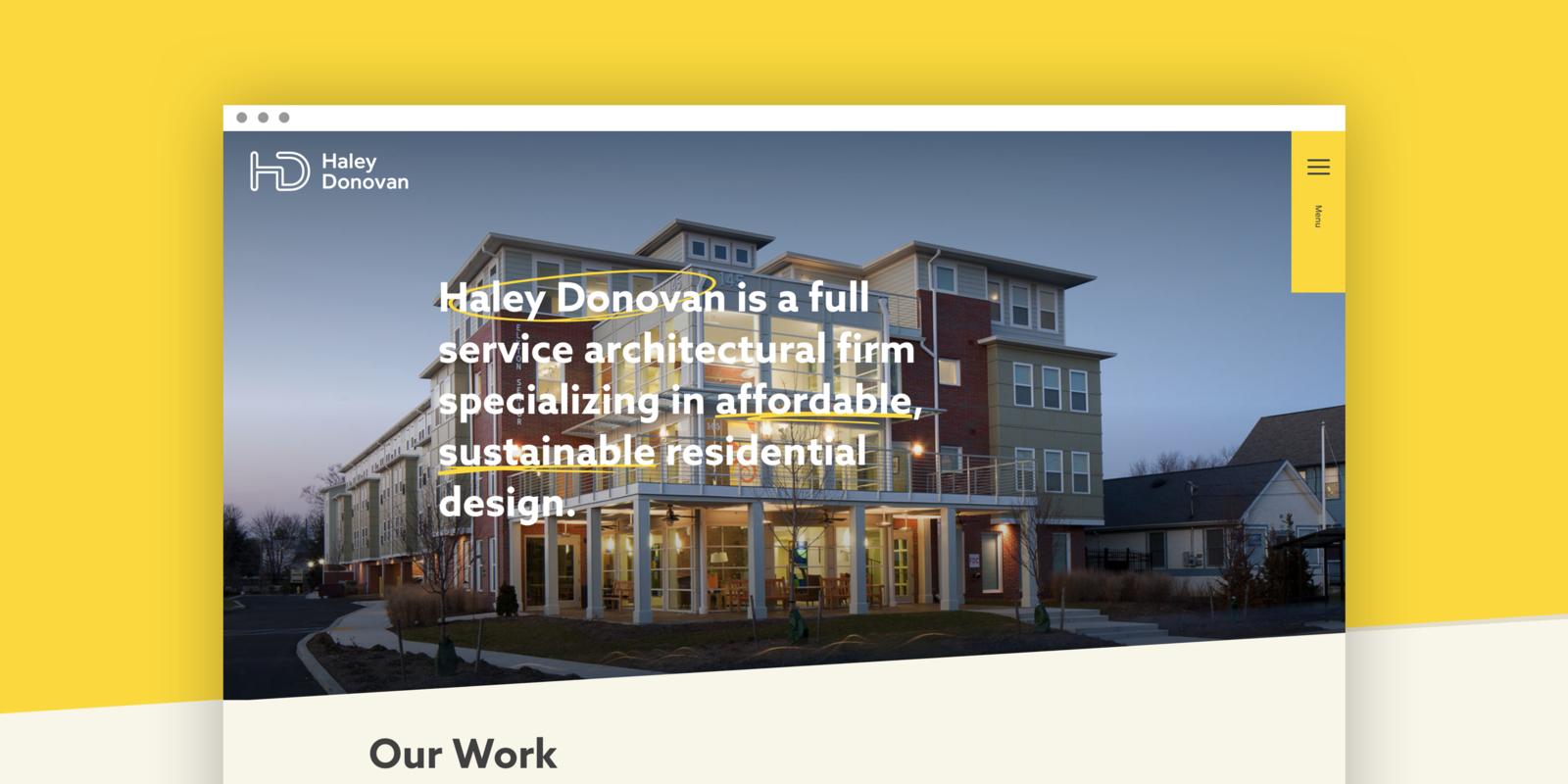 haley donovan home desktop