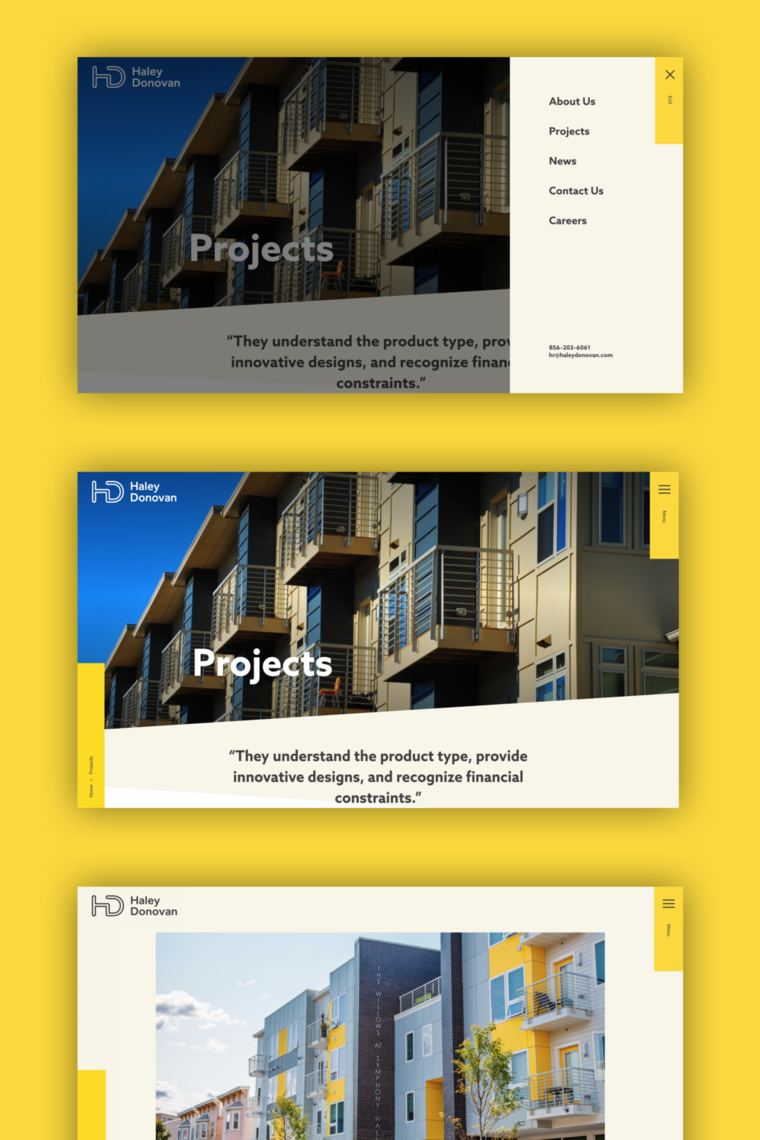 haley donovan projects