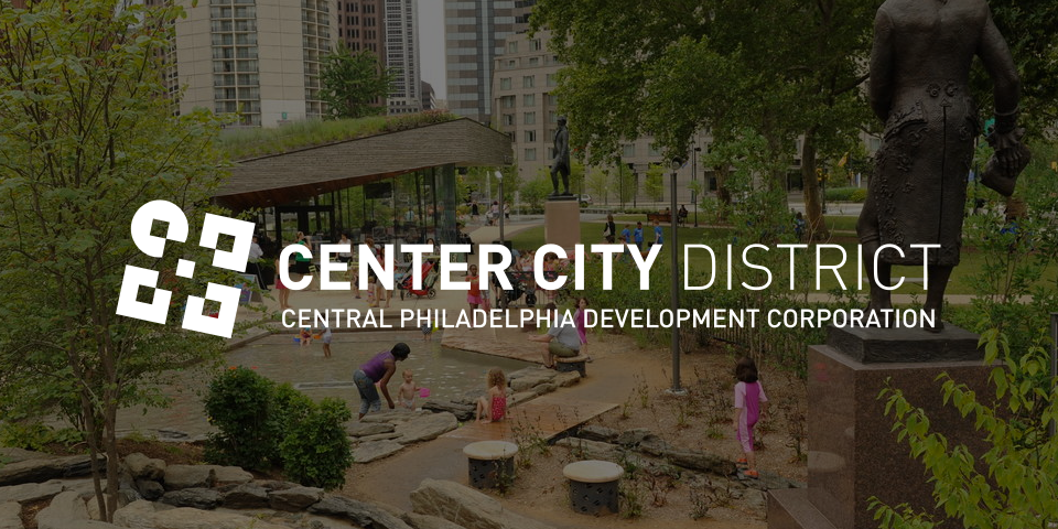 Center City District Logo & Wordmark