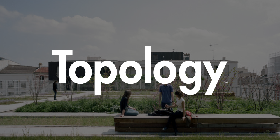 topology wordmark