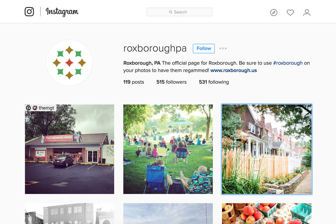 roxborough identity instagram